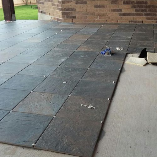 Tile - Outdoor patio - San Antonio, TX