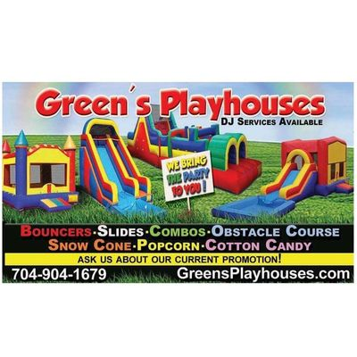 Avatar for Green's Playhouses Party Rental Charlotte, NC Thumbtack