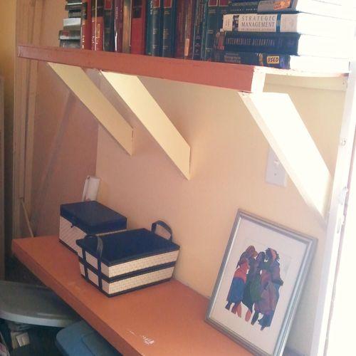 Supply Shelves After
