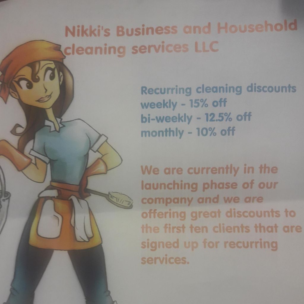 Nikki's Business and Household Cleaning Services
