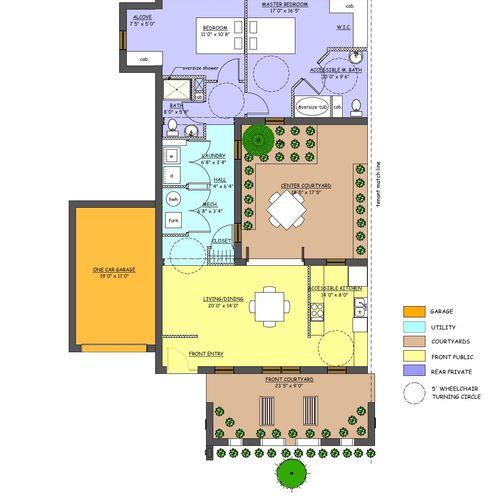 Matthews Multi-Family Housing  Marketing floor plan