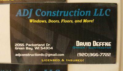 Avatar for ADJ Construction LLC (David Deffke)