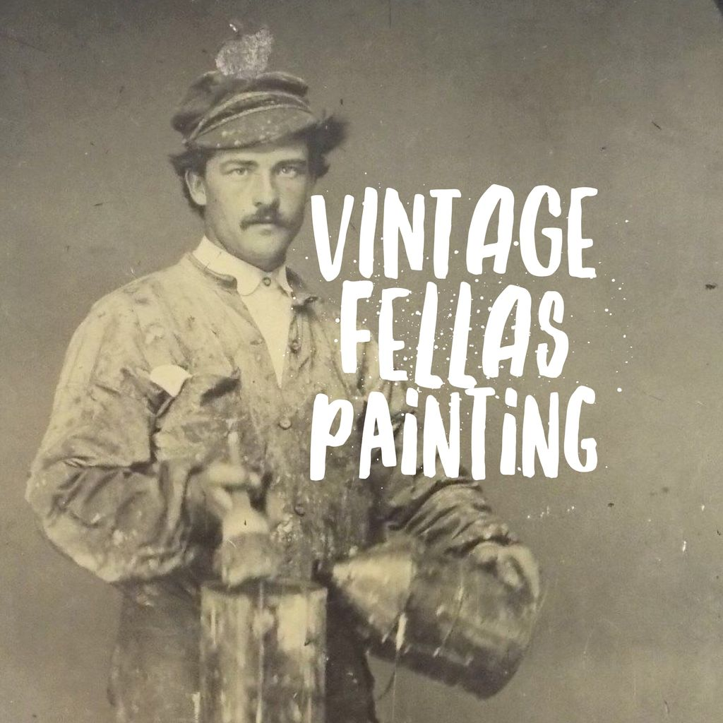 Vintage Fellas Painting