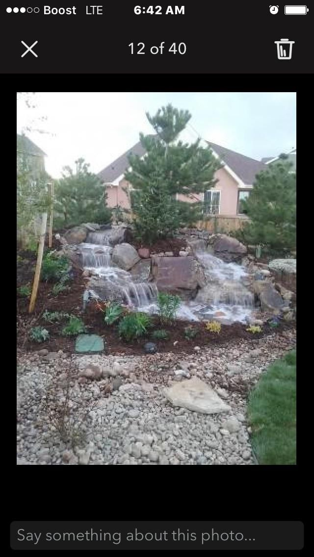 Rc lancape design & waterfalls inc