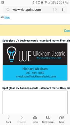 Avatar for Wickham Electric