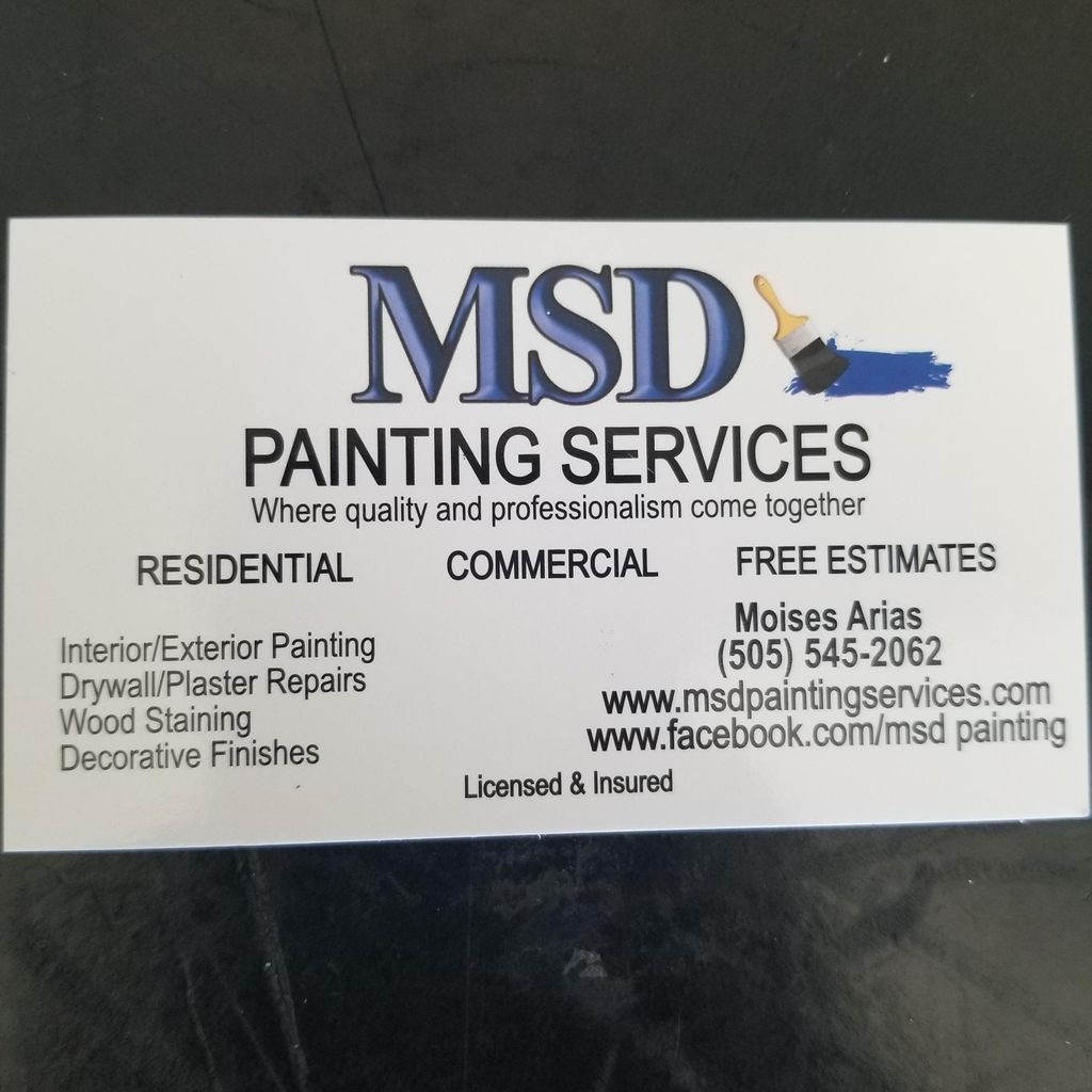 MSD painting services