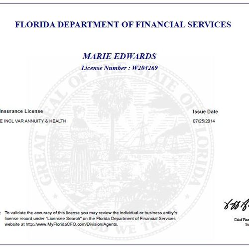 Florida Insurance License