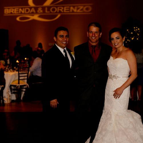 DJing Lorenzo and Brenda's wedding at Cielo at Castle Pines