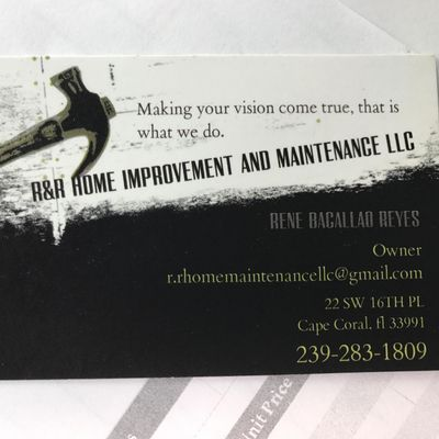 Avatar for R&R Home improvement and maintenance llc Fort Myers, FL Thumbtack
