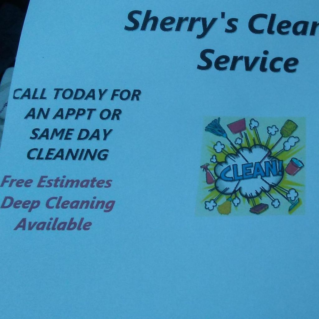Sherry's cleaning services