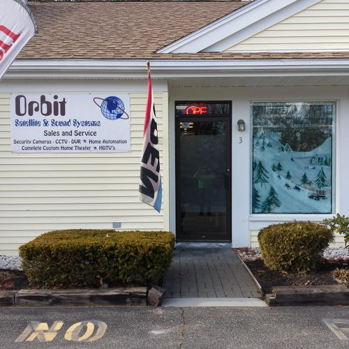 Orbit Satellite and Sound Systems 614 Laconia Rd Tilton, NH 03276.