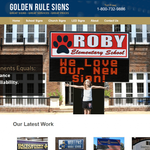 Golden Rule Signs