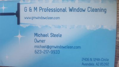 G & M Professional Window Cleaning Goodyear, AZ Thumbtack