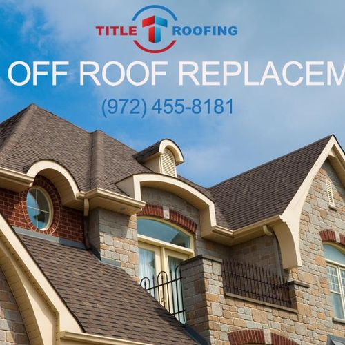 Mention you heard about us on Thumbtack and receive $500 off your roof replacement.