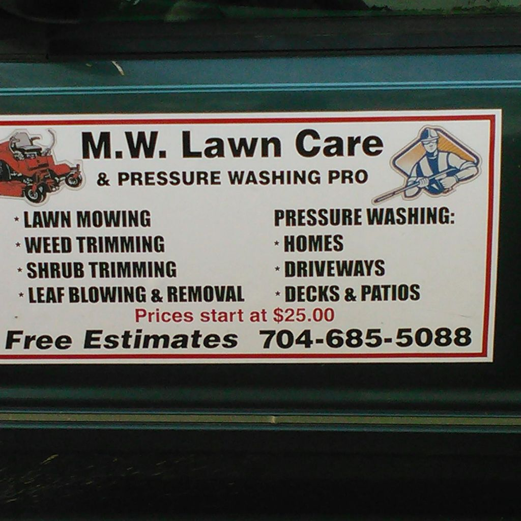 MW Lawn Care & Pressure Washing Pro