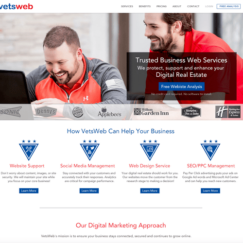 Vetsweb - New Branding Design
