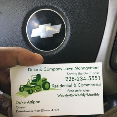 Avatar for Duke & Company Lawn Management Long Beach, MS Thumbtack