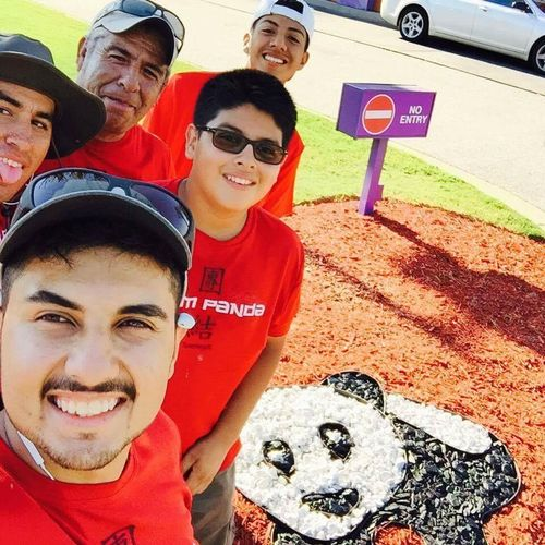 PANDA EXPRESS PROJECT DESIGN BY LALO'S LANDSCAPING