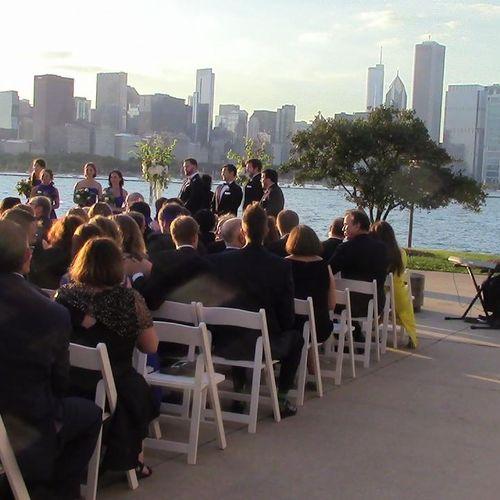 A wedding in Chicago