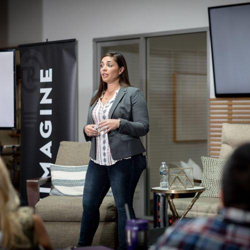 Speaking on entrepreneurship and careers goals!