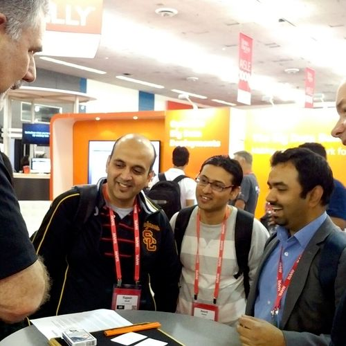 If they stop by your booth, they'll want to be entertained and informed.  Trade show magic does both.