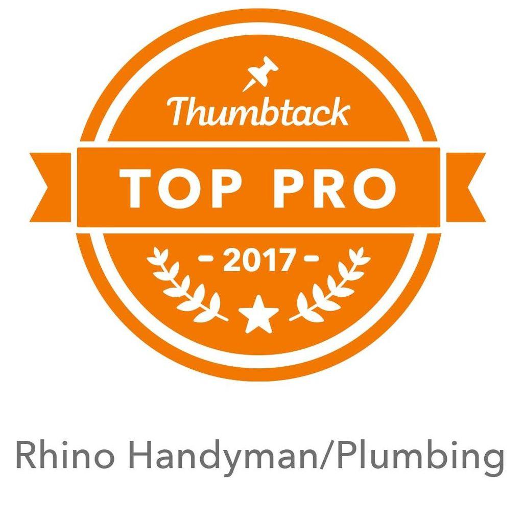 Rhino Handyman /Plumbing