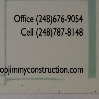 Avatar for Top Jimmy Construction llc