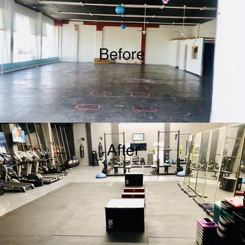 Our Studio Before & After Pictures