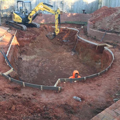 Building New Gunite Pool