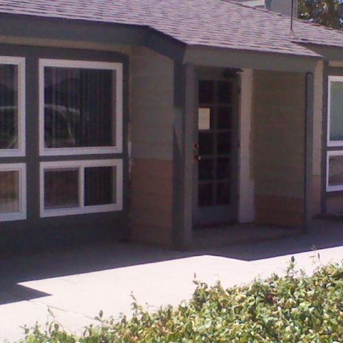 WINDOW REPLACEMENT ON A POOL HOUSE IN GLENDORA 2013.
