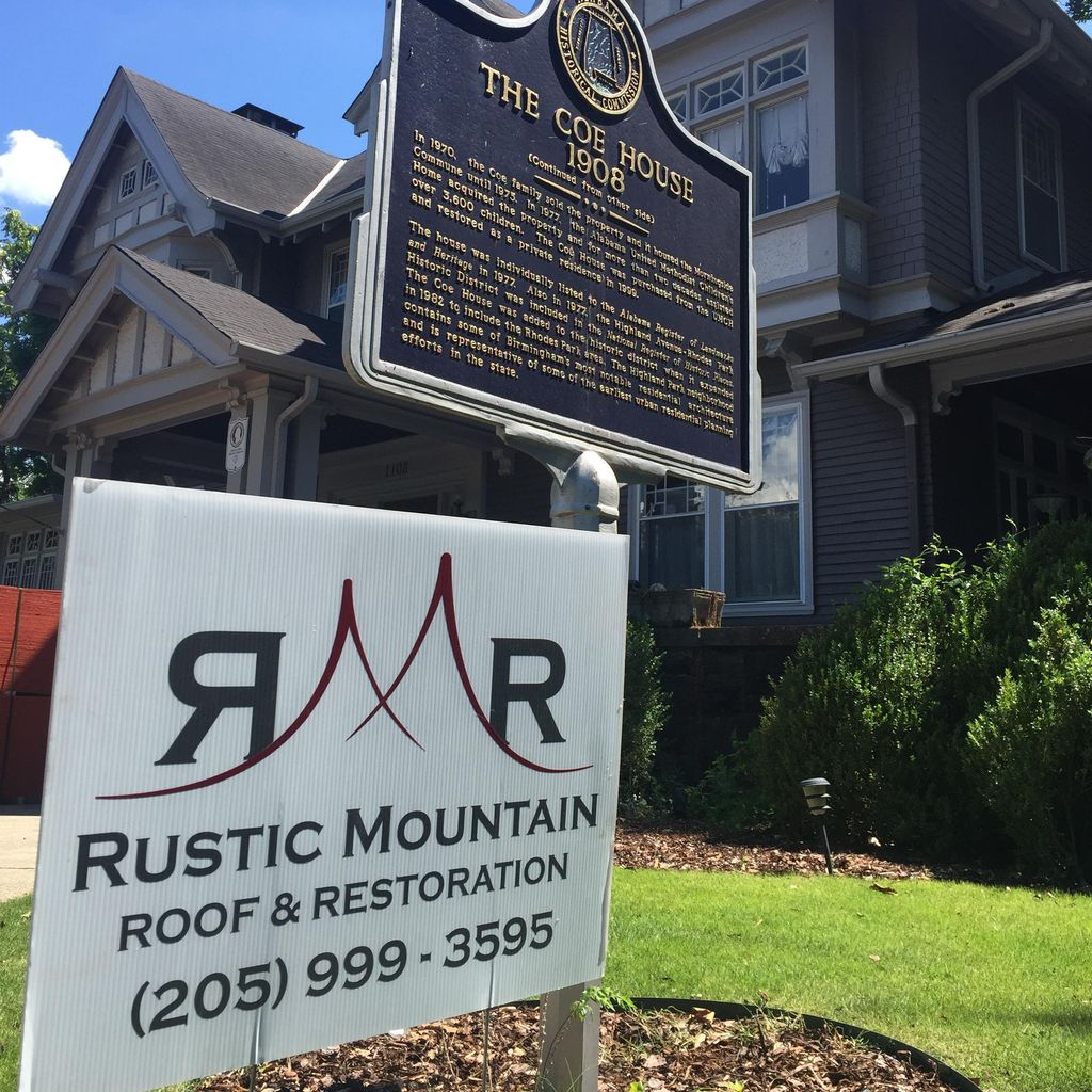 Rustic Mountain Roof & Restoration