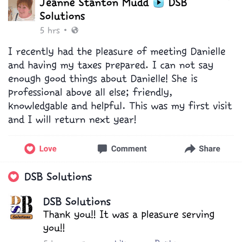 Another Happy Client!