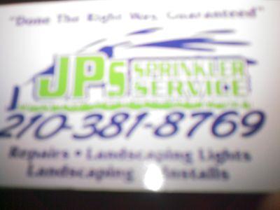 Avatar for JP'S SPRINKLER SERVICE LLC San Antonio, TX Thumbtack