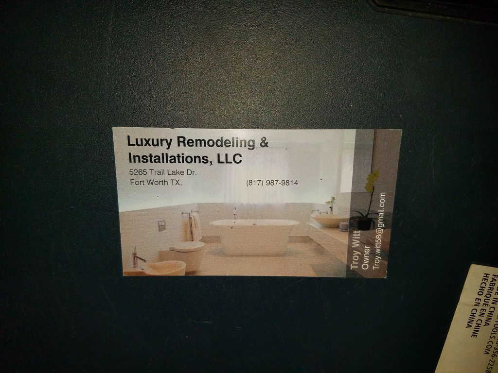 Luxury Remodeling and Installations, LLC