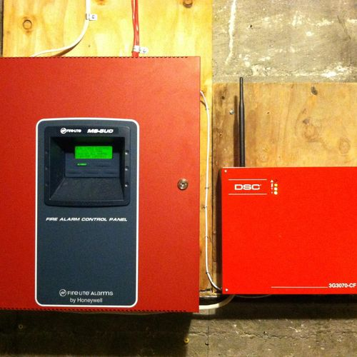 Commercial Fire Alarm Panel