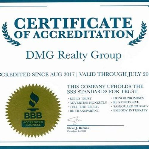 Accredited with the BBB A+ Rating