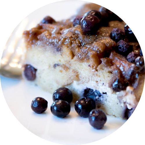 Blueberry Cream Cheese French Toast Bake *Available in Classic and Gluten Free