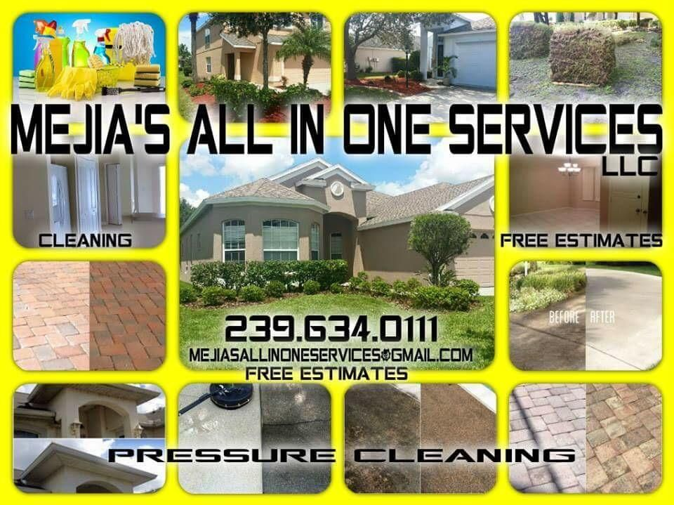 Mejia's All in One Services