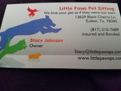 Avatar for Little Paws Petsitting
