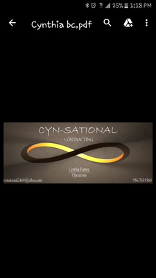 Avatar for Cyn-Sational Contracting Mcallen, TX Thumbtack