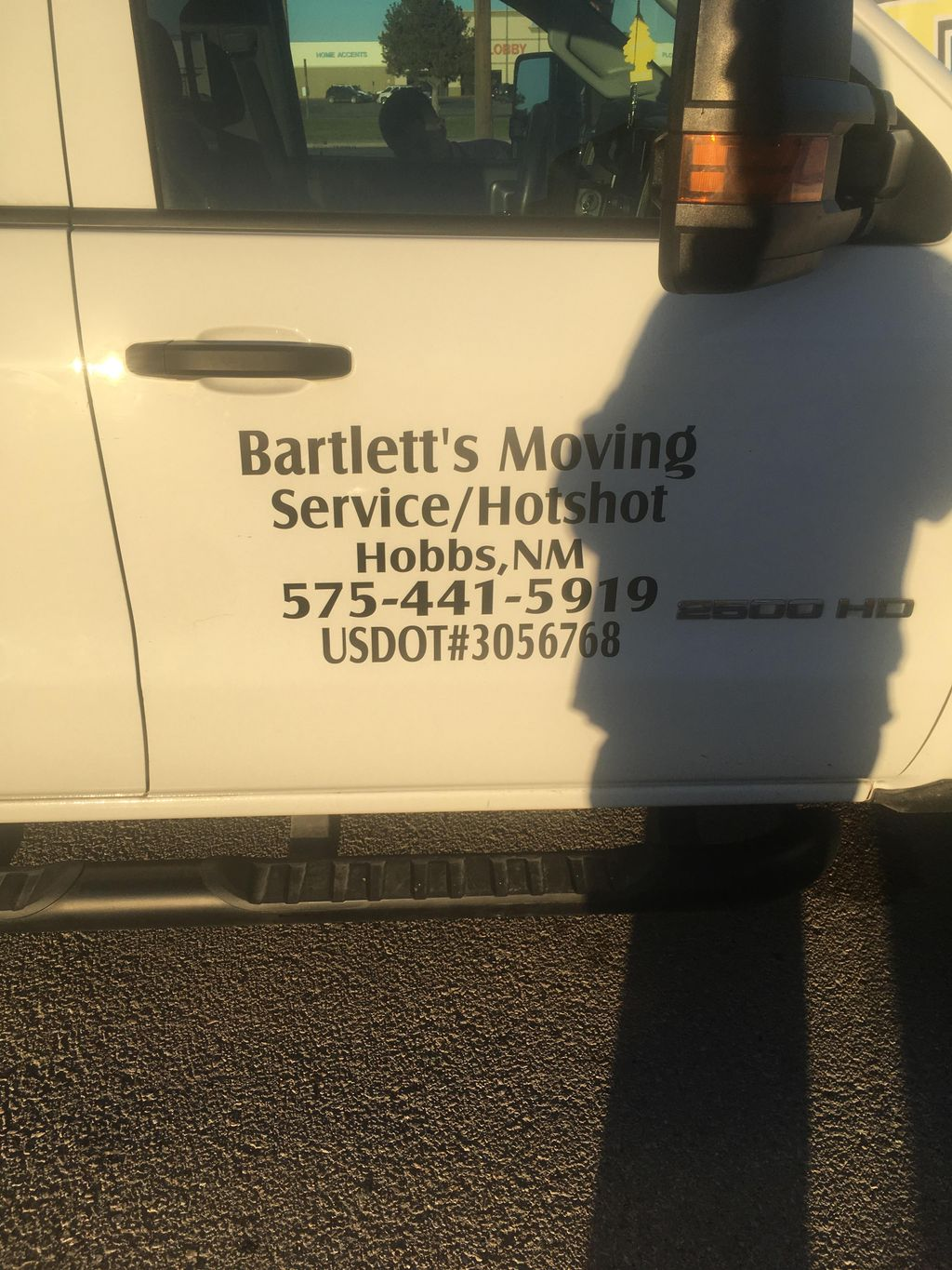 Bartlett's moving service