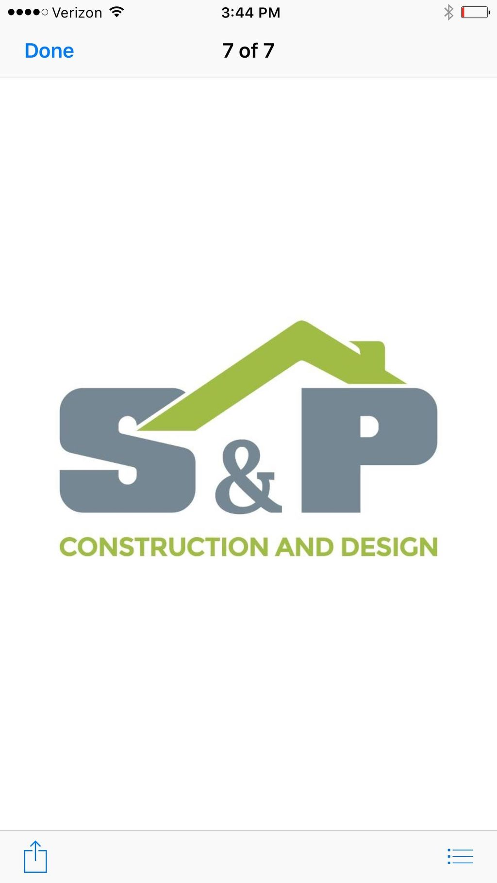 S & P Construction and Design, LLC