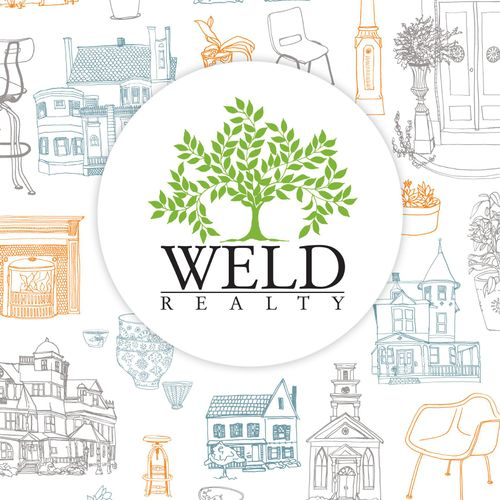 Illustrations for Weld Realty Poster and marketing materials.