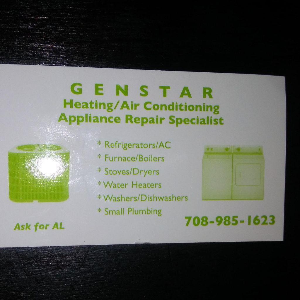 Genstar heating and appliance repair specialist