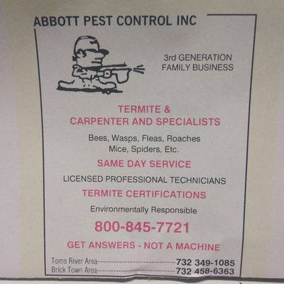 Avatar for Abbott Pest Control
