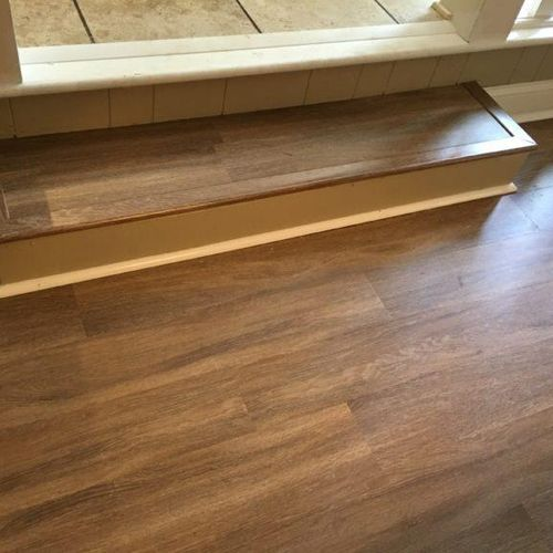 Appearance of wood with greater durability!