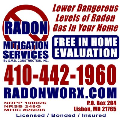 Avatar for Radon Mitigation Services by G M D Construction Mount Airy, MD Thumbtack