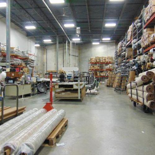 New Energy Efficient warehouse lighting