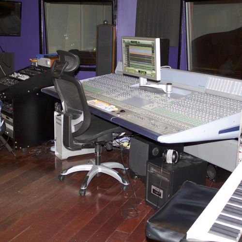 Control Room A Pro tools HDX system