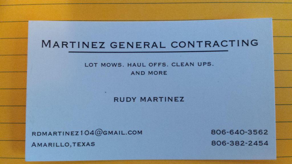 Martinez General Contracting